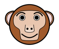 animal,cartoon,face,smiley,media,clip art,public domain,image,svg,png