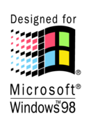 Designed,For,Microsoft,Windows,98