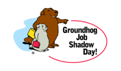 Groundhog,Job,Shadow,Day