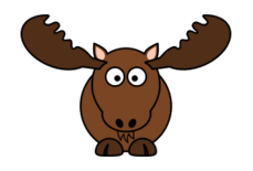 moose,mammal,north america,deer,antler,cartoon