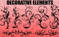 vector,design,decorative,floral,element,ornament