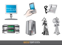 monitor,server,iphone,communication,anthena,hand,aerial,dedicated,hosting