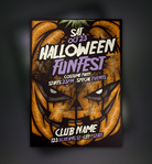 flyer,flyer template,halloween,pumpkin,trick or treat