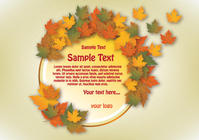 autumn,banner,circle,fall,season,seasonal,autumn vector