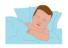 people,face,child,activity,baby,boy,sleeping,bed,pillow,night