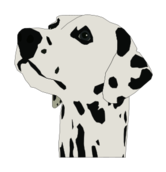 media,clip art,public domain,image,png,svg,animal,pet,dog,head,dalmatian,nose