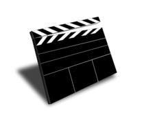 media,clip art,how i did it,editorial pick,public domain,image,png,svg,film,movie,clapper,slate,scene,motion picture,hollywood,actor,director,motion picture